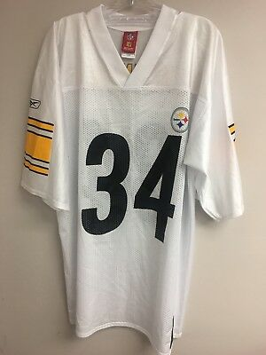 dbf596cc9 Reebok NFL Players Pittsburgh Steelers Rashard Mendenhall  34 Men s Jersey L