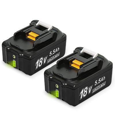 Mrupoo Compatible BL1860B 18V 5.5Ah Lithium Battery Replacement with Makita...