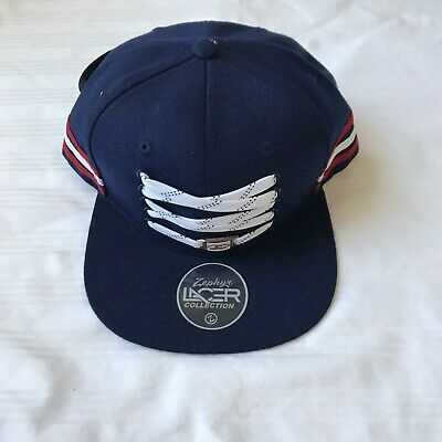 sale retailer 264eb 82a8b Brand New Zephyr NHL Team USA Hockey custom Lacer flat bill SnapBack hat