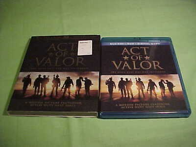 Act Of Valor - Featuring Active Navy Seals (Blu-ray Disc, 2012) - (40)