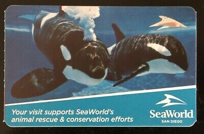 2 Sea World San Diego Admission Tickets