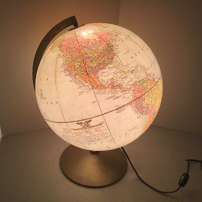 Replogle - 12 Inch Library Globe - Lighted - Metal Base - USSR