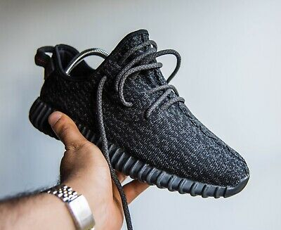 a17c28f163c15 Adidas Yeezy Boost V1 Pirate Black 2.0 UK7.5 VERY RARE GREAT CONDITION STEAL !