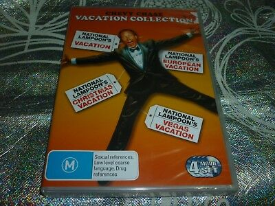 Chevy Chase Vacation Collection (4 Disc) (New Sealed) (Dvd, M) (142232 A)