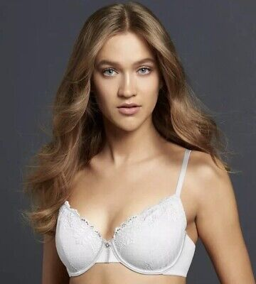 84e0456543b9c Simply Vera Wang Demi Coverage Indulgence Lace Unlined Bra Underwire 42D  NWT  38