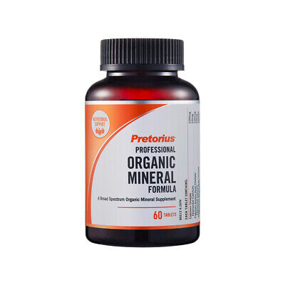 Pretorius Organic Mineral - Multimineral supplement - Calcium&Magnesium