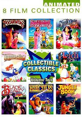 Collectible Classics: Animated 8 Film Collection, Vol. 2 (DVD, 2012, 2-Disc Set)