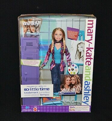"Mary-Kate And Ashley Olsen Doll So Little Time ""Ashley"" Doll 2002 Mattel"
