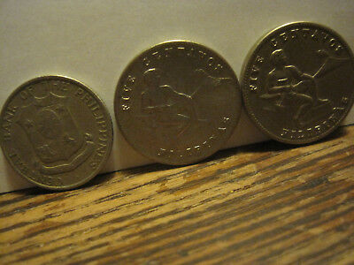 Philippines 5 Centavos 1944-1945  Seated Man 19mm co-ni coin high grade 1pcs