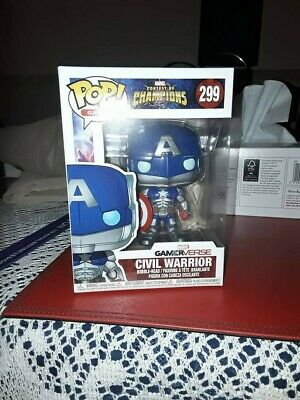 Funko Pop Vinyl Heroes figure 299 Marvel Contest of Champions Civil Warrior