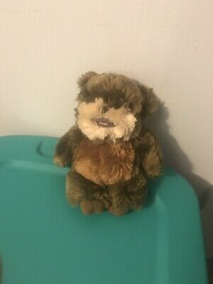 Walt Disney World Star Wars Ewok Wicket Warrior Lucasfilm Plush Doll Figure