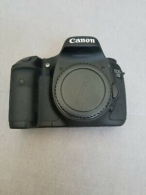 Canon EOS 7D 18.0MP Digital SLR Camera  Black (Kit w/ EF IS 28-135mm & 18-55 mm
