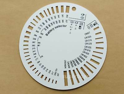 Watch Cell Battery Button Type Size Measurement Gauge for Watches Repair Tool