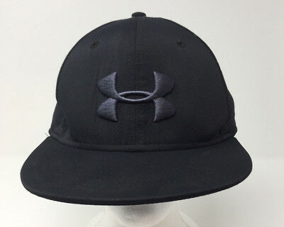 Black Under Armour Men's Stretch Fit Baseball Cap Hat LG/XL