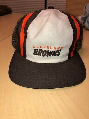 9593a7c990a CLEVELAND BROWNS VINTAGE Snapback Hat cap Dawg Pound Old School ...