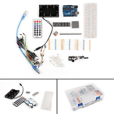 1x UNO R3 Secondary Basic Starter Apprendre Latest Board DIY Kit Pour Arduino