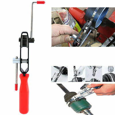 Automotive Car CV Joint Boot Clamp Banding Crimper Tool With Cutter Pliers