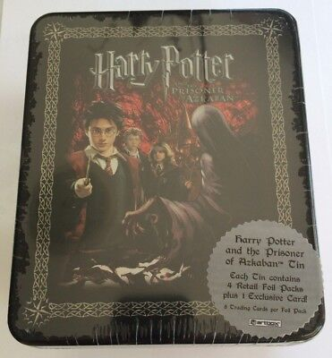 2004 Artbox Harry Potter Prisoner Of Azkaban Collectable Tin