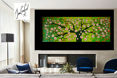original  Art Painting Tree Landscape modern Australia dots not aboriginal