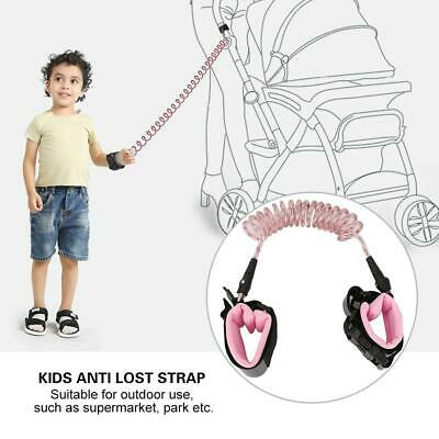 Child Kid Anti-lost Safety Leash Wrist Link Harness Strap Reins Reflective Strap