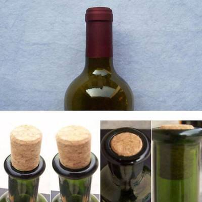 10pc Storage Material Wine Tools Round Cork Plugs Wine Stopper Bottle Plug Corks