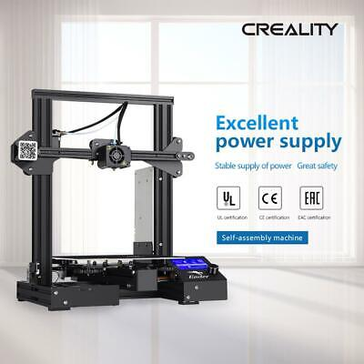 Newest Creality Ender 3 Pro 3D Printer 220X220X250mm Mean Well Power DC 24V 2019