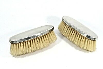Solid Silver Brushes Hallamrked Birmingham 1936