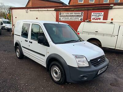 2014 (14) FORD TRANSIT CONNECT 75 T220 1.8 TDCi FACTORY CREW VAN