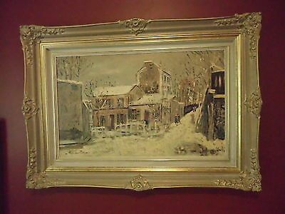 French Provincial~LARGE Huge Ornate Gold ROCOCO Style FRAME~Paris Print