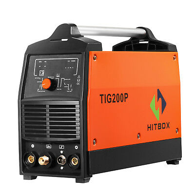 TIG 200P TIG Welder MMA Pulse Digital Machine de soudage TIG à haute fréquence
