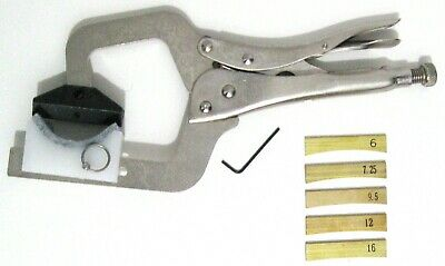 Hand held Fret Press w/ 4 Supports and 5 Fret Press Inserts