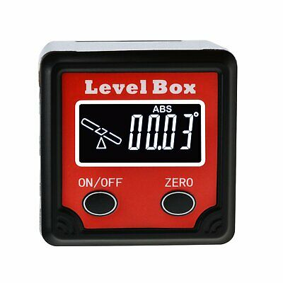 Digital Angle Finder Bevel Gauge Measurement Tool 360° Protractor Inclinometer