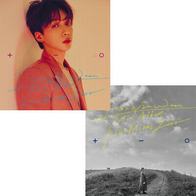 JEONG SEWOON [±0] 3rd Mini Album CD+POSTER+Photo Book+Card+Pre-Order SEALED +, -