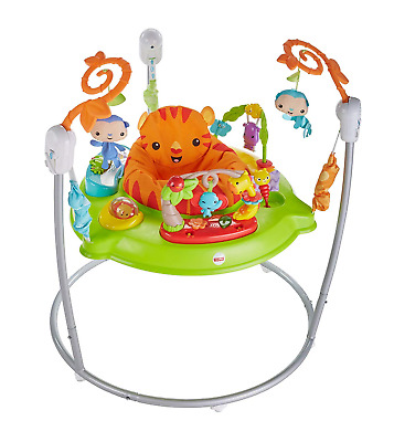 Fisher-Price CHM91 Roaring Rainforest Jumperoo, New-Born Baby Activity Centre