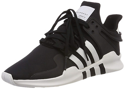 new product 11af9 eeae0 adidas Menss EQT Support Adv Low-Top Sneakers BlackWhite