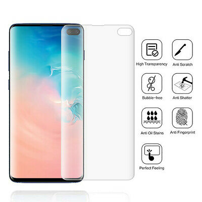 Für Samsung S10 S10e S10plus Clear Soft Hydrogel Film TPU Screen Protector Cover