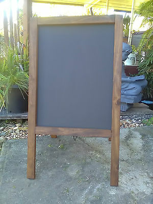 A Frame Chalkboard Blackboard Menu Board Restaurant Cafe Bar Bistro Coffee Shop