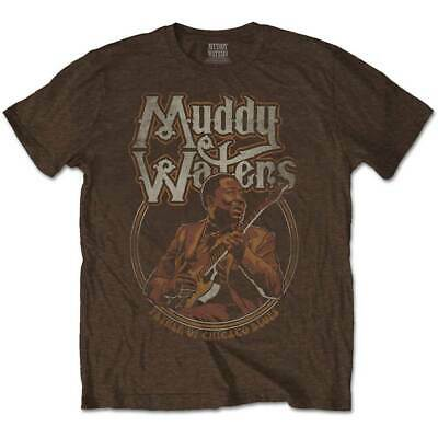 Muddy Waters Men's Tee: Father of Chicago Blues