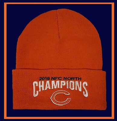 2e7fc576 CHICAGO BEARS ORANGE SKULL winter hat - Bears