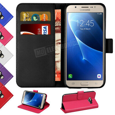 Case Cover For Samsung Galaxy J6 2018 Magnetic Flip Leather Wallet Stand