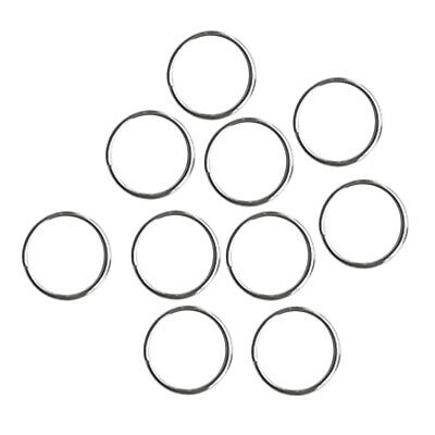 10X Diving Gear Attachment Split Ring /Keyrings Hook Loop Leather Craft 30mm