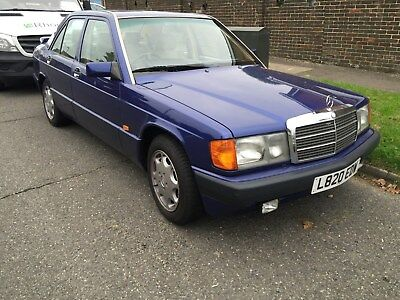 RARE Mercedes Benz 190 LE 2.0 LTR SPOTLESS ORDER  LIMITED EDITION 246 of 1000