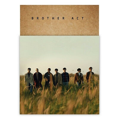 BTOB [BROTHER ACT.] 2nd Album CD+POSTER+Photo Book+Card+B.Mark+Mini Poster+Paper
