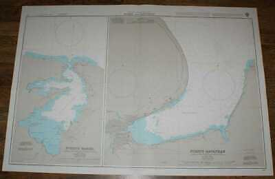Nautical Chart No. 411 West Indies - North West Coast of Cuba, Mariel & Matanzas