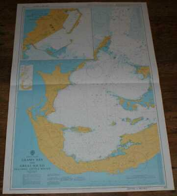 Nautical Chart No. 332 Bermuda Islands Grassy Bay & Great Sound inc Little Sound