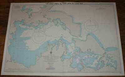 Nautical Chart No.434 434 Cuba - North Coast, Bahias Cabonico, Livisa and Nipe