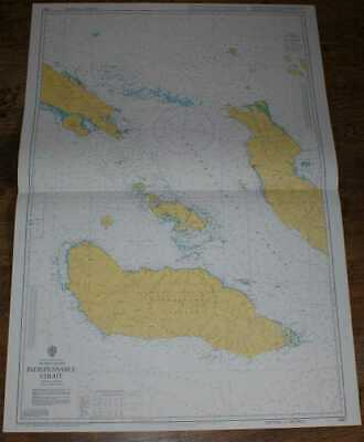 Nautical Chart No. 3997 S Pacific Ocean, Solomon Islands, Indispensable Strait