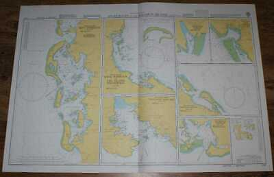 Nautical Chart No. 1747 South Pacific Ocean - Anchorages in the Solomon Islands