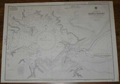 Nautical Chart No. 635 West Indies, Cuba - North Coast, Bahia Banes incl. Macabi