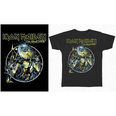 Iron Maiden Life After Death Promotional Poster 1985 12x18 Heavy Metal